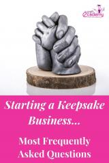 The most frequently asked questions about Starting a Keepsake Business