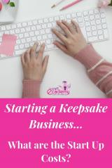 Keepsake Business & Hand Casting Business Start Up Costs