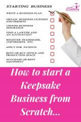How to Start a Keepsake Business from Scratch?