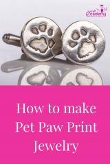 How to make Paw Print Jewellery?