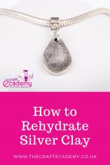 How to Rehydrate Precious Metal Clay / Silver Clay
