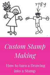 How to make a Custom Image Stamp & Turn a Drawing into a Stamp